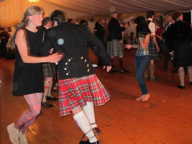 ceilidh at Ballone 2014