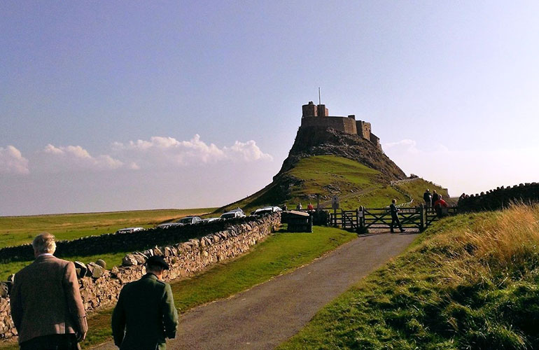 On the way to Lindisfarne - photo by Jenn Scott