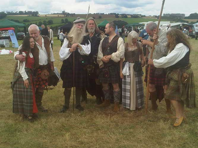 Lawrence Blair Oliphant and re-enactors