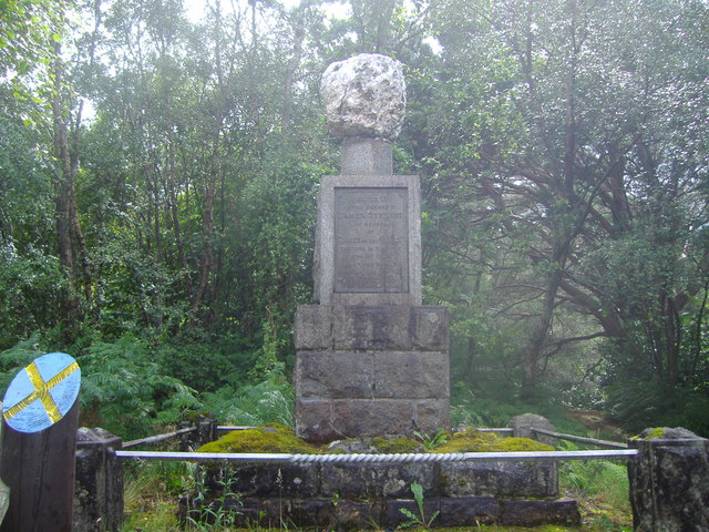 Monument to James of the Glen