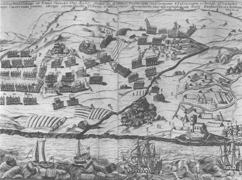 The  Second Battle of Dunbar