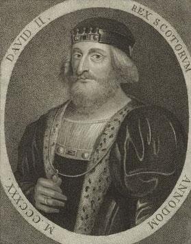 King David II of Scotland
