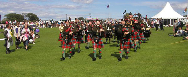 The Pipe Band March