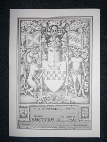 Armorial Certificate of Membership